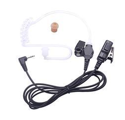 Bingle 1 Pin Covert Acoustic Tube Earpiece Surveillance Head