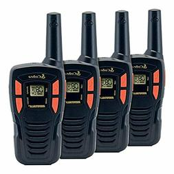 COBRA CX190-4 4 Pack Walkie Talkies - Rechargeable, Long Ran