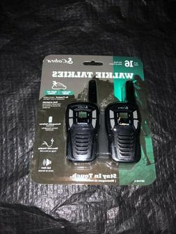 Cobra CXT145 MicroTalk 16 Mile Range 22 Channel 2 Way Walkie