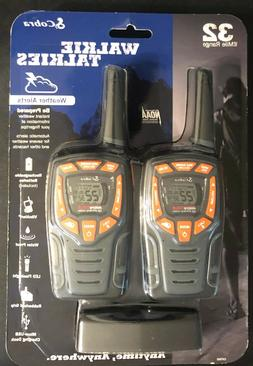 Cobra CXT565 32 Mile Two Way Radio Waterproof LED Walkie Tal