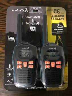 Cobra CXY805 Walkie Talkies, IP54 Waterproof Up To 35mile Ra