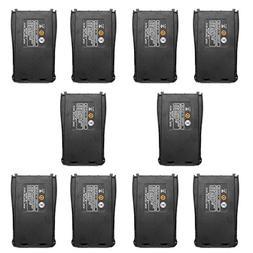 10pcs Baofeng DC 3.7V 1500mAh Li-ion Battery Pack for Baofen
