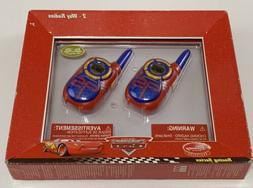 Disney Pixars Cars Walkie Talkies Disney Store Exclusive Two