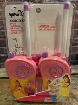 Disney PRINCESS Walkie Talkies NEW Toy