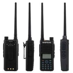 DM-1801 Dual Band DMR Digital Radio Walkie Talkie Black Long