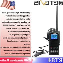 DMR Digital Retevis RT84 3000CH UHF/VHF Digital/Analog Walki