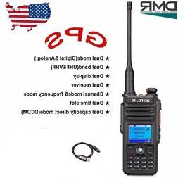 DMR Retevis RT82 GPS Dual Band 3000CH IP Waterproof Walkie T