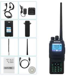 Dual Band DMR Digital Radio Walkie Talkie DM-1701 Black Long