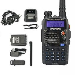 DUAL BAND TWO WAY RADIO Portable FM Transceiver Antenna Hand