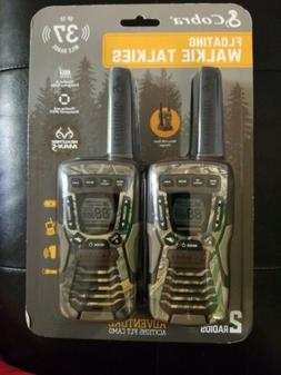 Cobra Floating Walkie Talkies ACT1095 FLT Camo 37 miles rang
