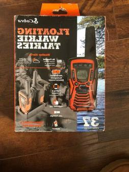 Cobra Floating Waterproof Walkie Talkies2 Way Radios ACXT109