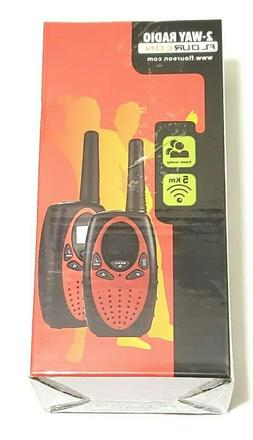 FLOUR Walkie Talkies 22 Channel Two Way Radios Long Range 30