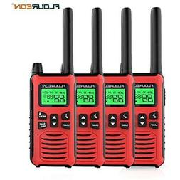 FLOUREON 4 Marine TwoWay Radios Packs Walkie Talkies 22 Chan