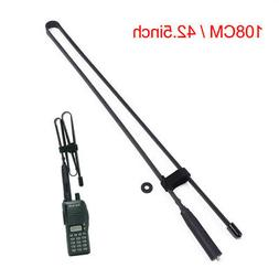 Folding Army Tactical VHF/UHF Walkie Talkie Antenna For Baof