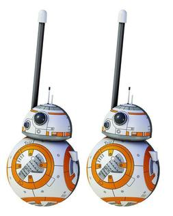 Star Wars BB8 Walkie Talkies for Kids Static Free Extended R