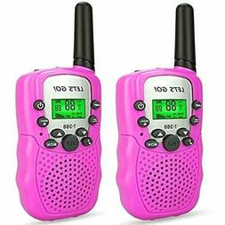 Girls Walkie Talkies Games Age 3-12, DIMY For Kids Toys Year