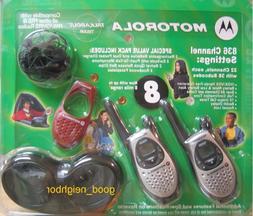 Motorola 8 Mile GMRS / FRS TALKABOUT T5530LR 2 Way Radio Rec