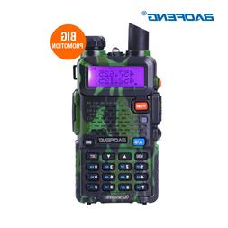 Green Baofeng UV5R 2-Way Ham FM Radio Wireless Walkie Talkie