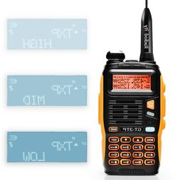 Baofeng GT-3TP Mark III HP V/UHF TRI-POWER 1/4/8W Walkie Tal