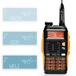 Baofeng GT-3TP Mark III Two-way Radio HP V/UHF TRI-POWER 8Wa