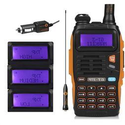 Baofeng GT-3TP MarkIII TP 1/4/8Watt High Power Dual-Band VHF