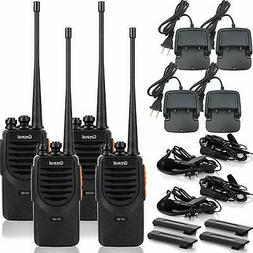 GV 9S Walkie Talkies Long Range for Adults Rechargeable 2 Wa
