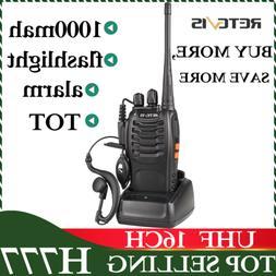 Retevis H777 Walkie Talkies two Way Radio long range UHF 16C