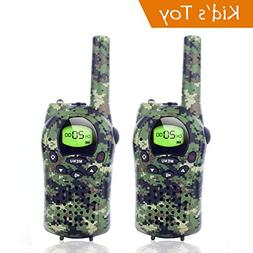 Handheld Camo Walkie Talkies for Kids 22 Channel FRS/GMRS 5