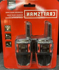 Craftsman Hands-Free Rechargeable Walkie Talkies CMXZRAZF118