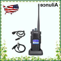 Ailunce HD1 GPS 3000CH IP67 UHF+VHF DMR Alarm 10W Walkie Tal