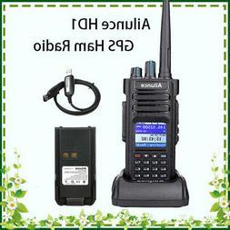 Ailunce HD1 GPS IP67 3000CH Dual Band Alarm 10W Walkie Talki