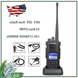 Ailunce HD1 GPS Walkie Talkies DMR Digital Ham Radio 3000CH