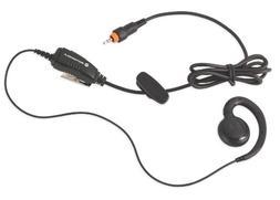 Motorola HKLN4455 CLP Single Pin Non-Adjustable PTT Earpiece