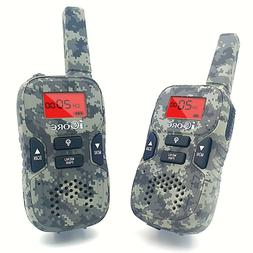 iCore Walkie Talkies for Kids Rechargeable, Toys Talkie Long