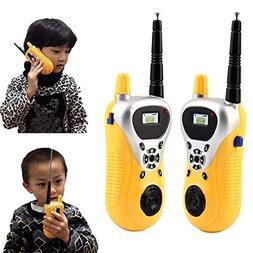 DishyKooker 2pcs Intercom Electronic Walkie Talkie Kids Chil
