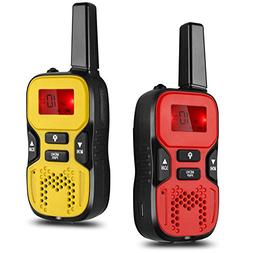 Flexzion Kids Handheld Walkie Talkie - 22 Channel GMRS/PMR/F