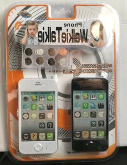 Lollipop Toys Kids Phone Walkie Talkies w/Included Batteries