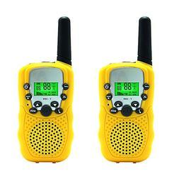 Aphse Kids Walkie Talkie Two Ways Radio Toy T-388 3 Miles Ra