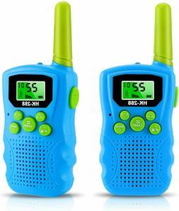 Kids Walkie Talkies 2 Pack, 22 Channels FRS/GMRS UHF Walkie