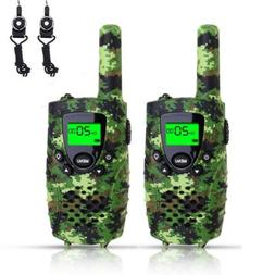 FAYOGOO Kids Walkie Talkies, 22-Channel FRS/GMRS Radio, 3-Mi