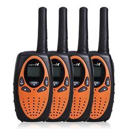 YETION Kids Walkie Talkies 4 Packs Two Radio Long Range 22 C