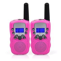 Swiftion Kids Walkie Talkies for Kids Rechargeable Long Rang