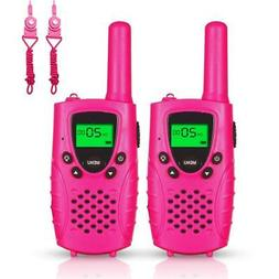 FAYOGOO Kids Walkie Talkies, 22-Channel FRS/GMRS Radio, 4-Mi