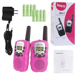 Rheshine Kids Walkie Talkies, Rechargeable Walkie Talkie for