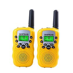 Kids Walkie Talkies Mini Two Way Radios Boys Girls Children