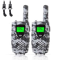 FAYOGOO Kids Walkie Talkies Toys, 22-Channel FRS/GMRS Radio,