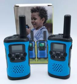 Kids Walkie Talkies radio set 3 mile range built in flashlig