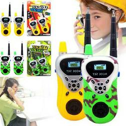 2Pcs Wireless Kids Walkie Talkies Toys 2-Way Radio Communica