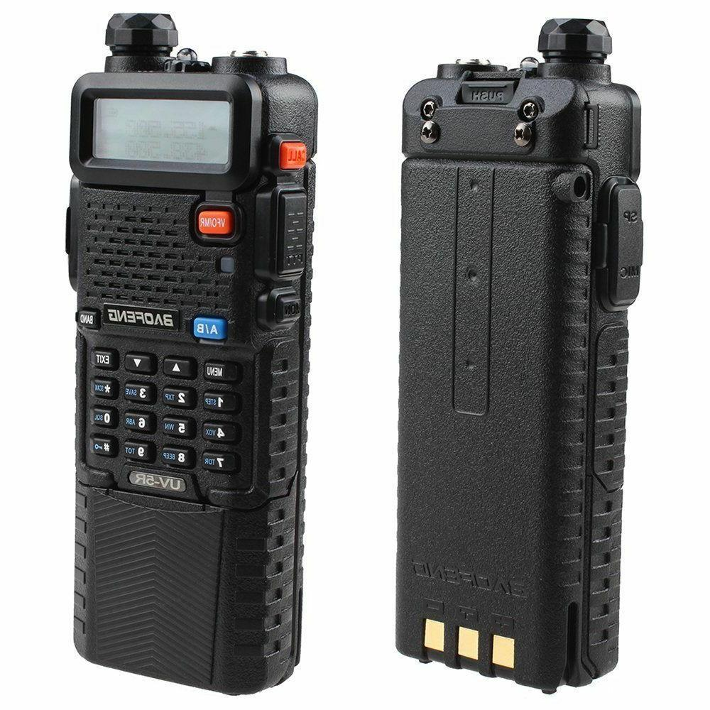 BAOFENG UV-5R 3800mah HIGH Battery Two-way Walkie-Talkie U/VHF Radio