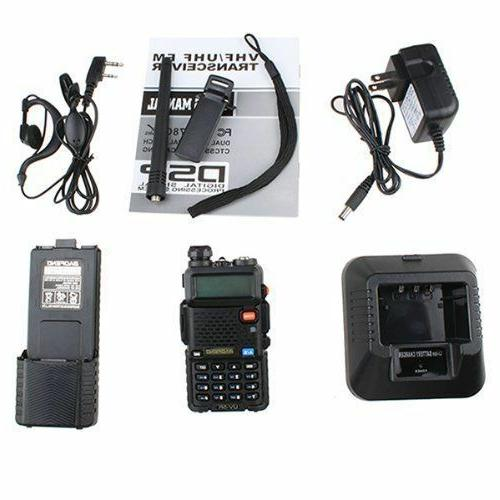 BAOFENG UV-5R 3800mah Battery Dual Band Walkie-Talkie